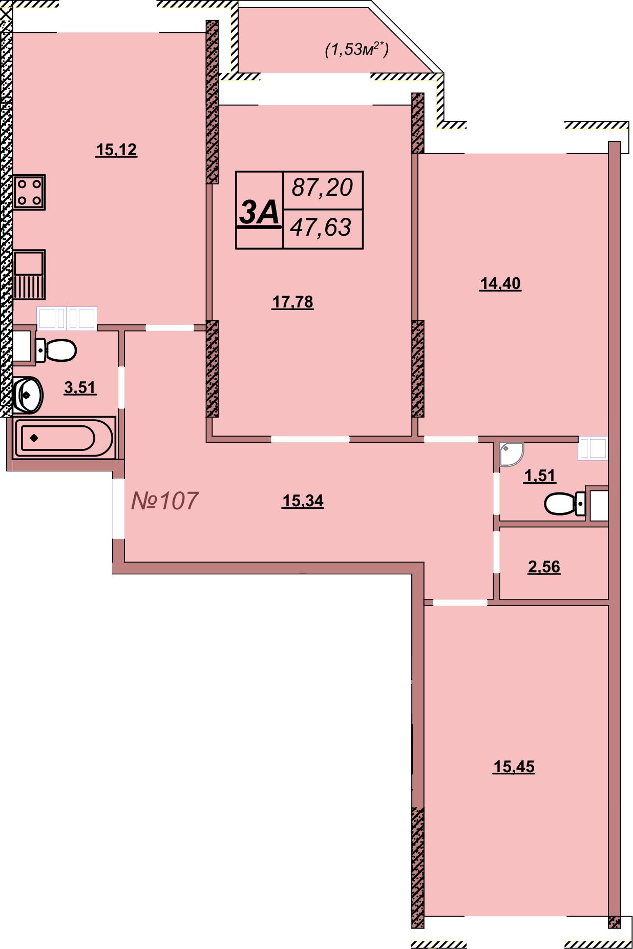 Квартира 107