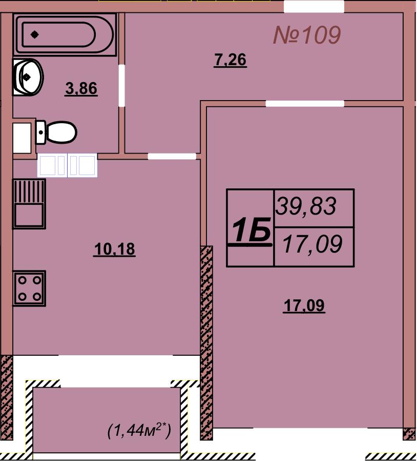 Квартира 109