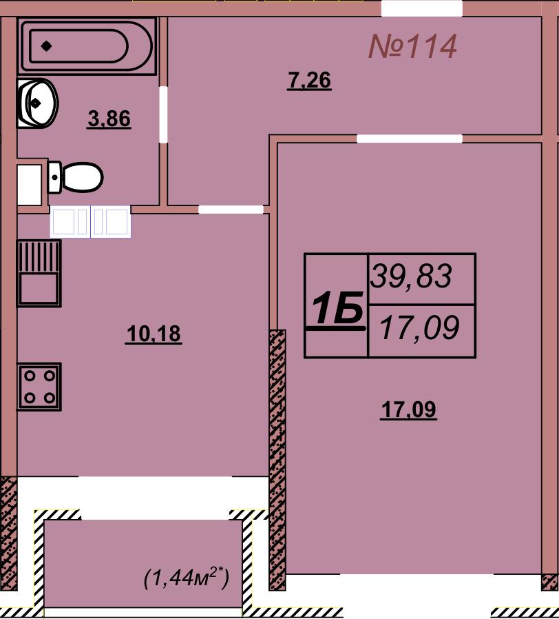 Квартира 114