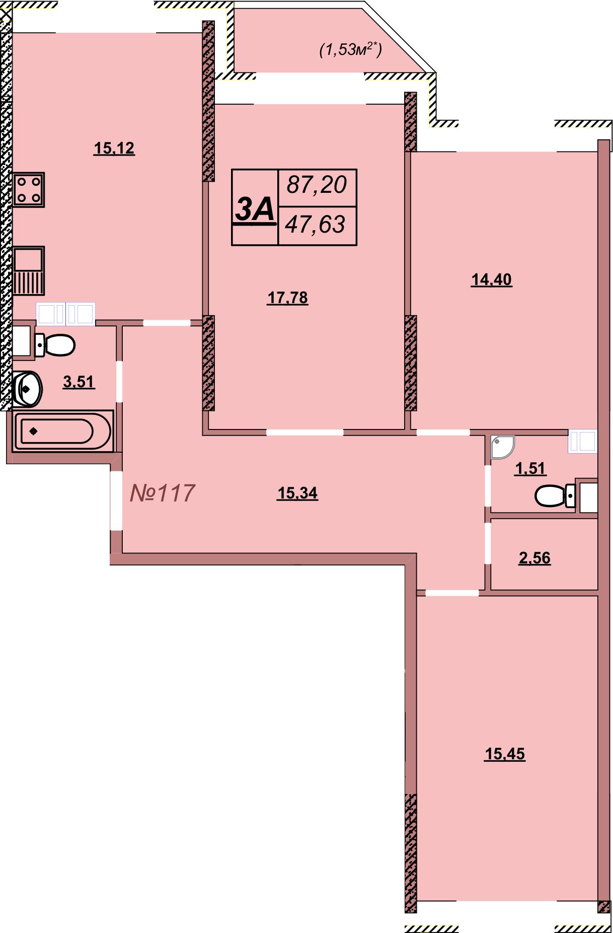Квартира 117