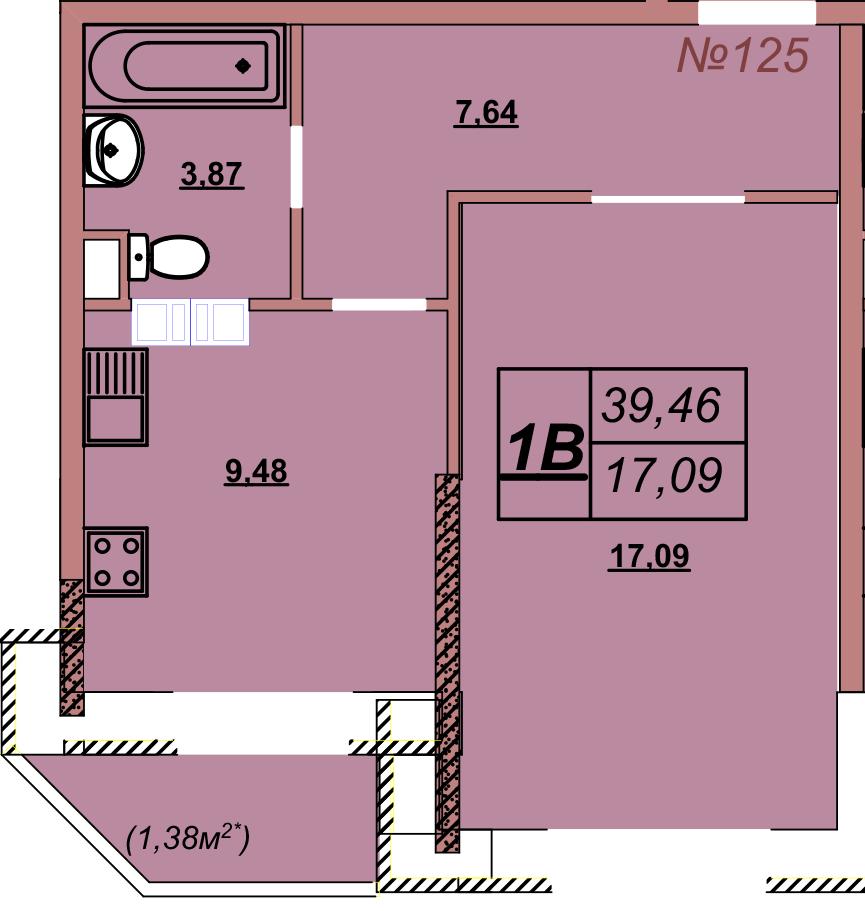 Квартира 125
