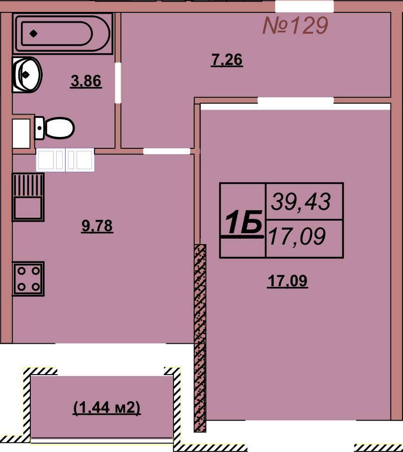 Квартира 129