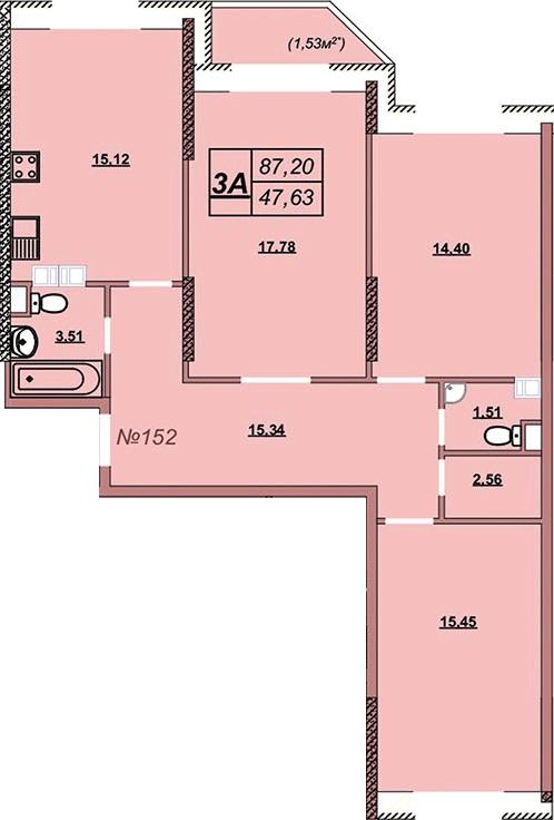 Квартира 152