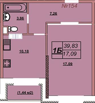 Квартира 154
