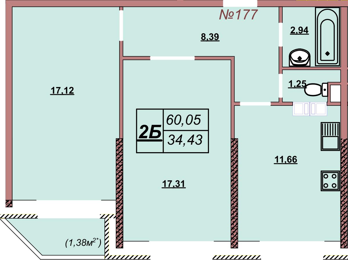 Квартира 177