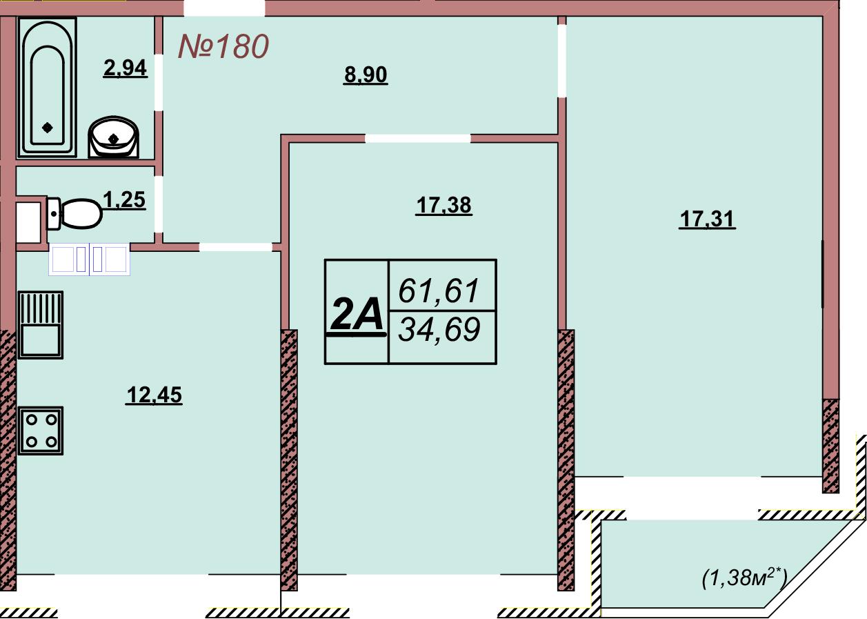 Квартира 180