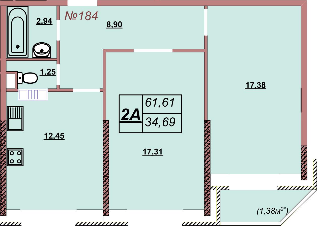 Квартира 184