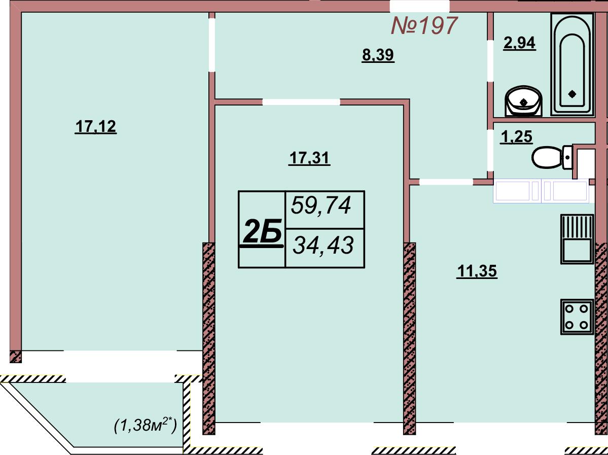 Квартира 197