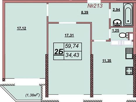 Квартира 213