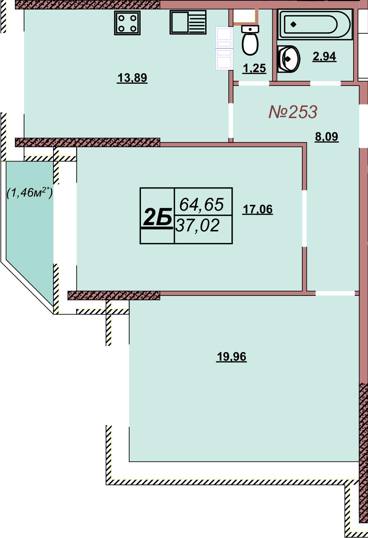 Квартира 253