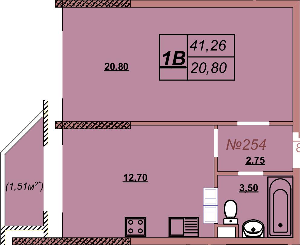 Квартира 254