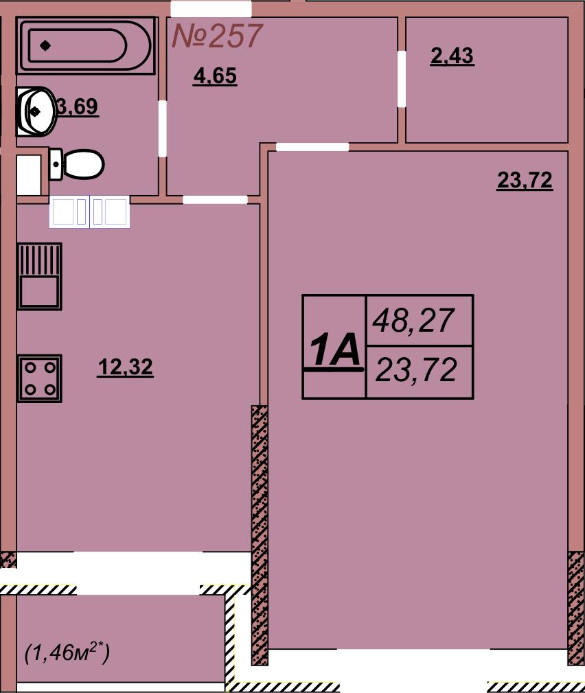 Квартира 257