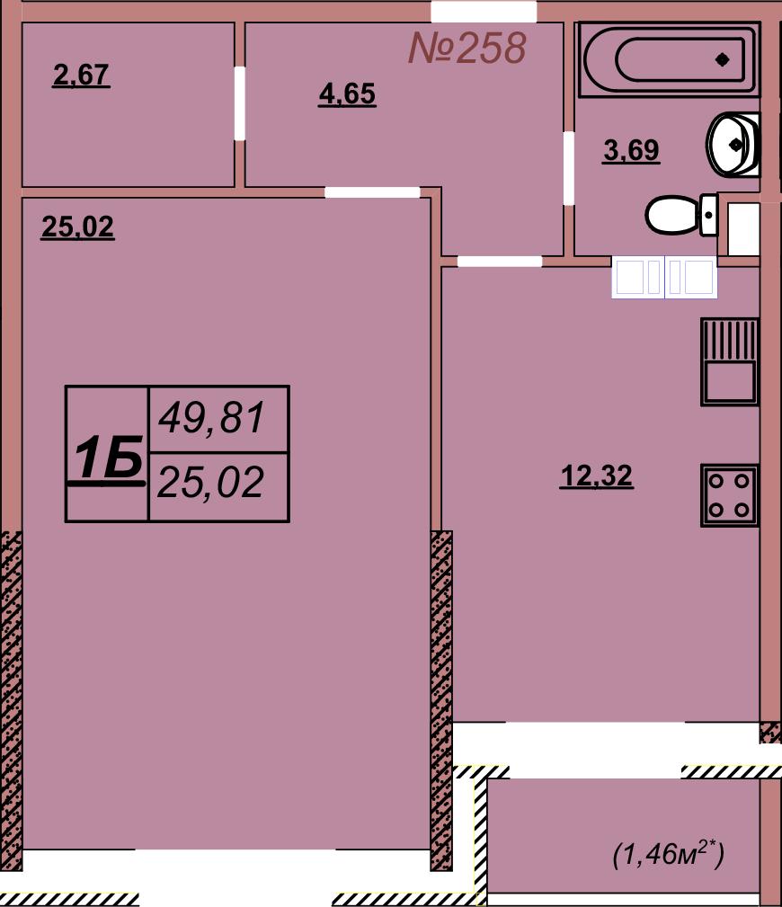 Квартира 258