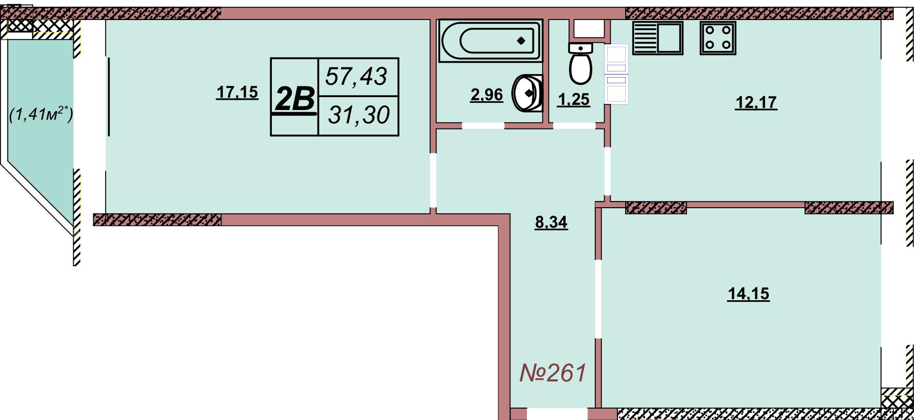 Квартира 261