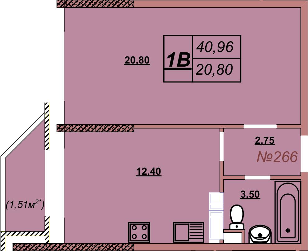 Квартира 266