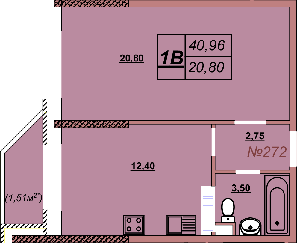 Квартира 272