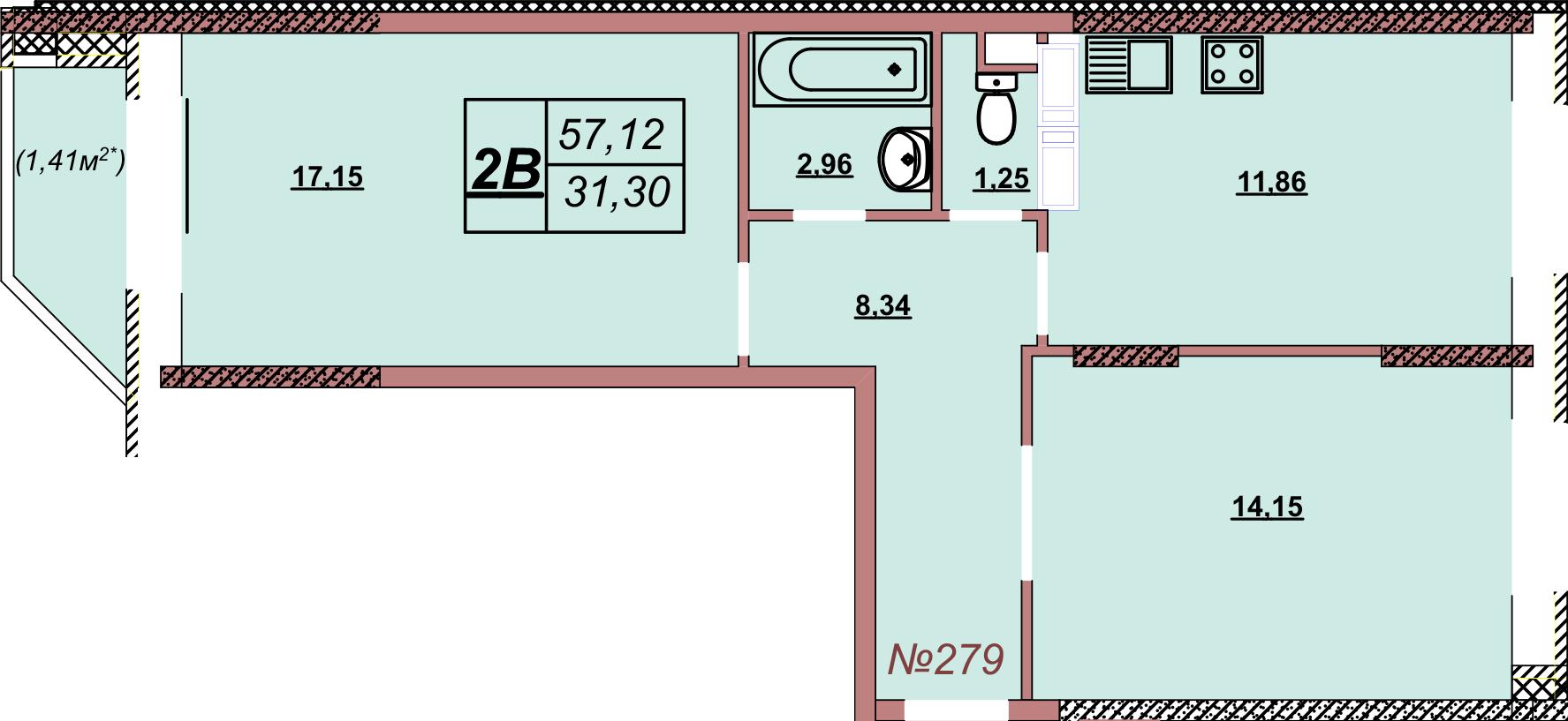 Квартира 279