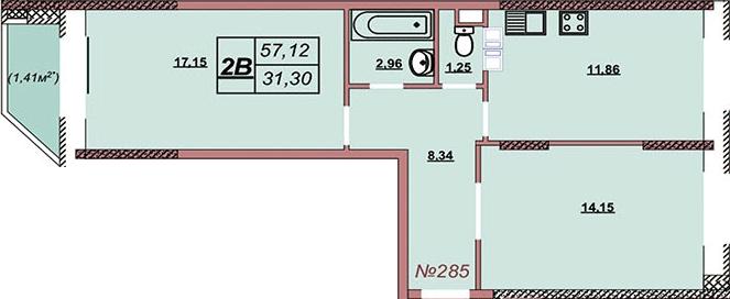 Квартира 285