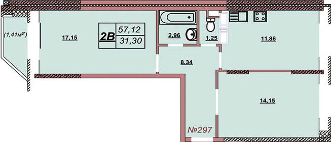 Квартира 297