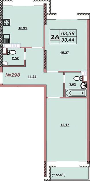 Квартира 298