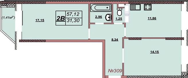 Квартира 309