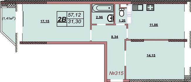 Квартира 315
