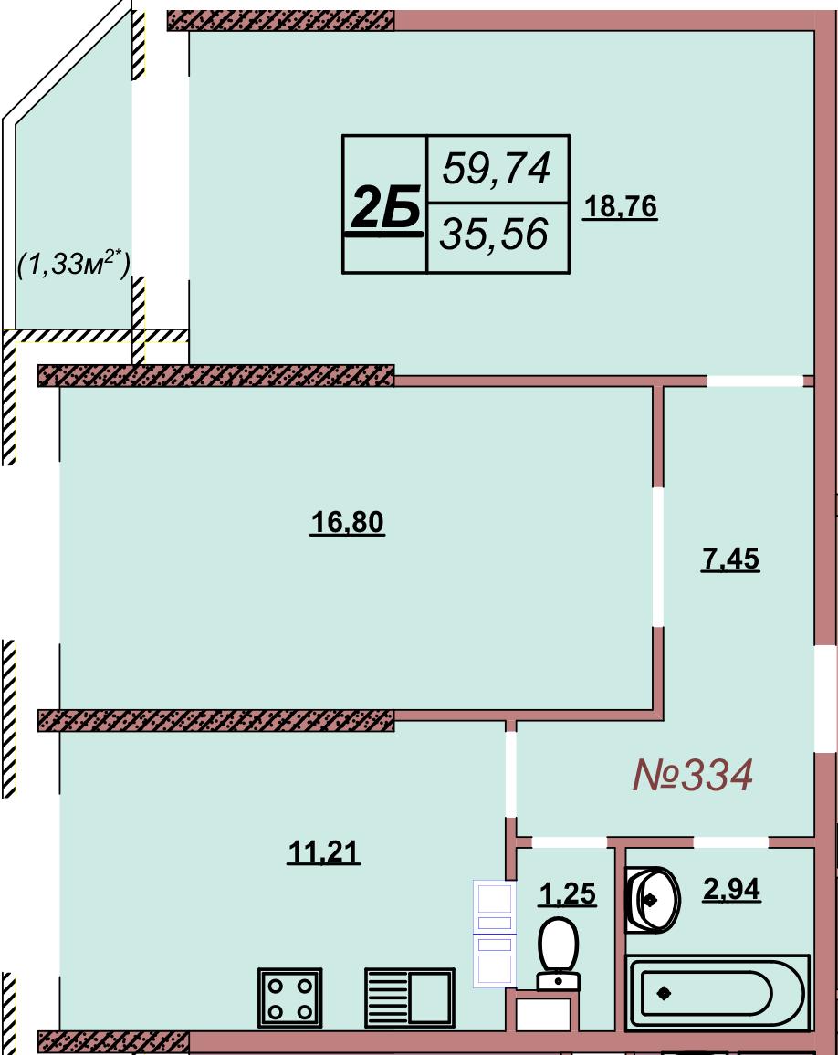 Квартира 334