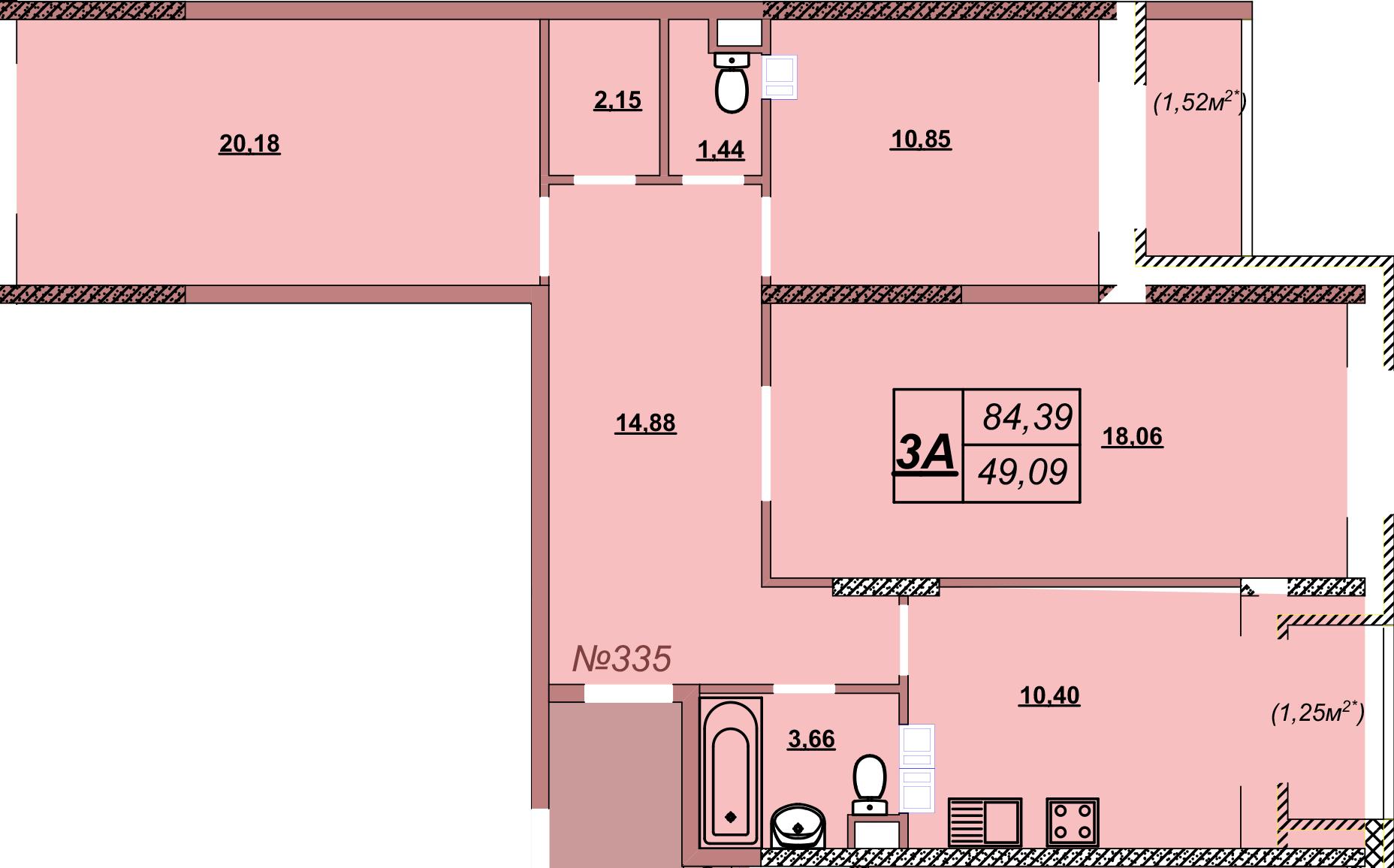 Квартира 335