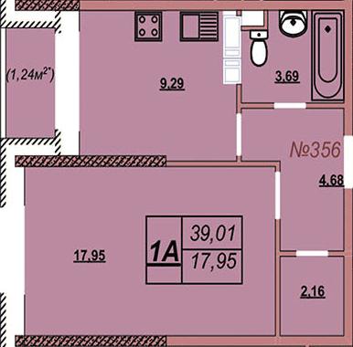 Квартира 356