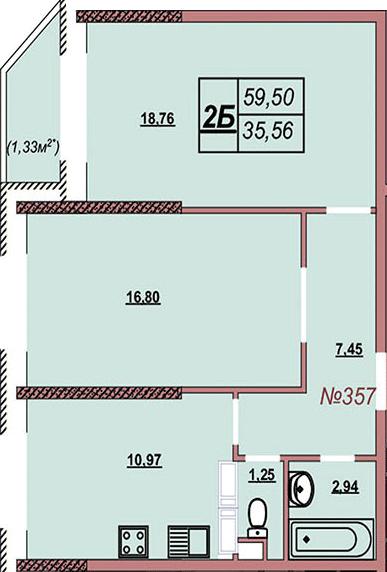 Квартира 357