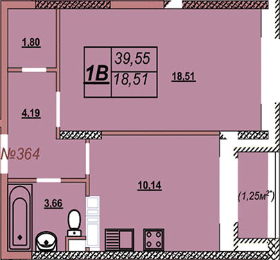 Квартира 364