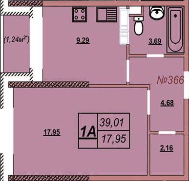 Квартира 366
