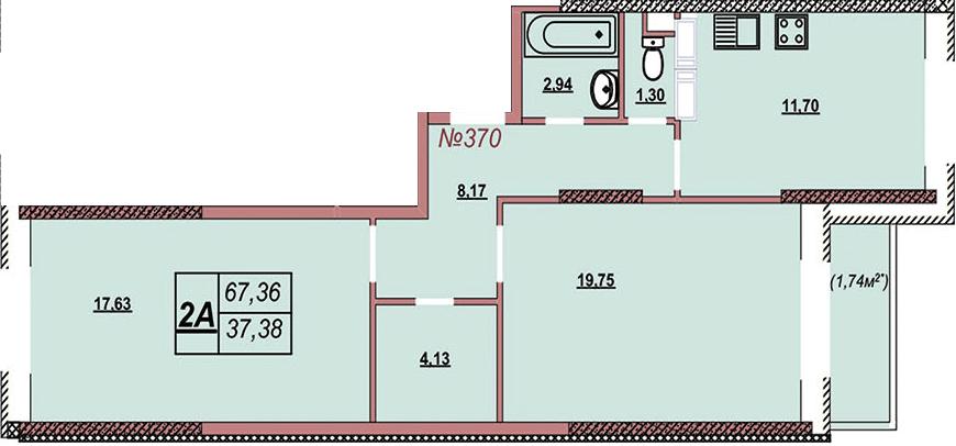 Квартира 370