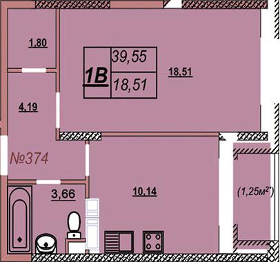 Квартира 374