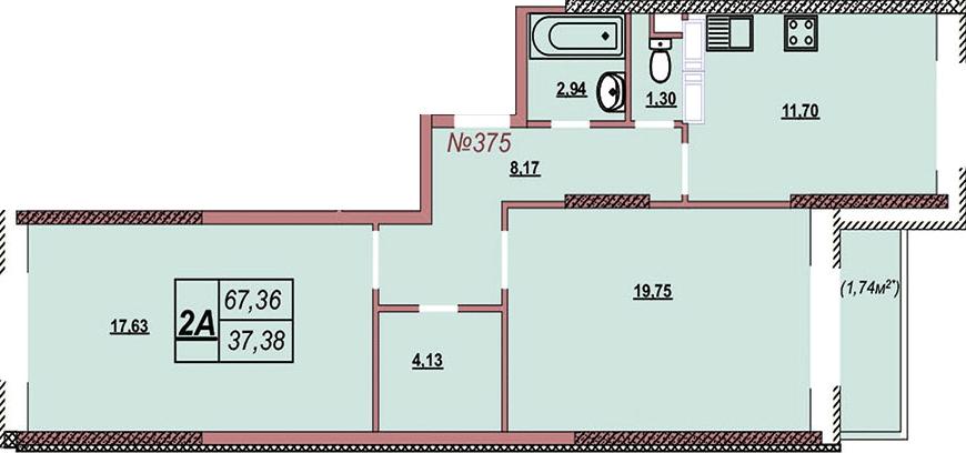 Квартира 375