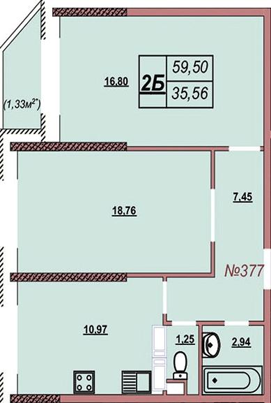 Квартира 377