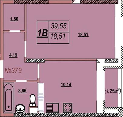 Квартира 379