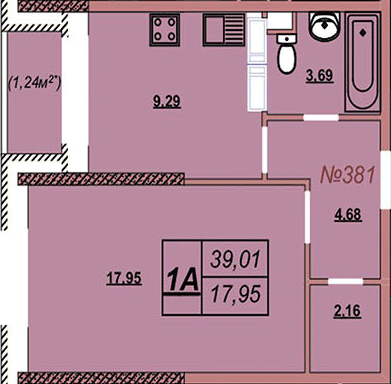 Квартира 381