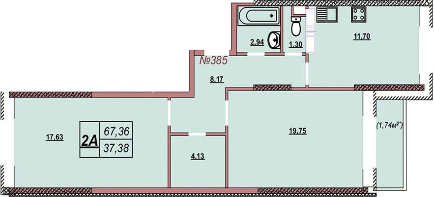Квартира 385
