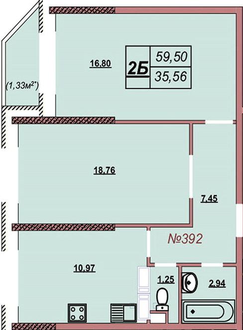Квартира 392