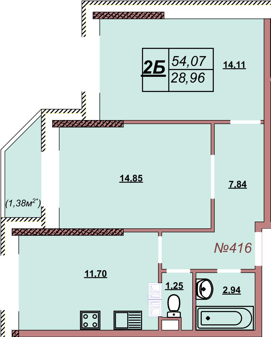 Квартира 416