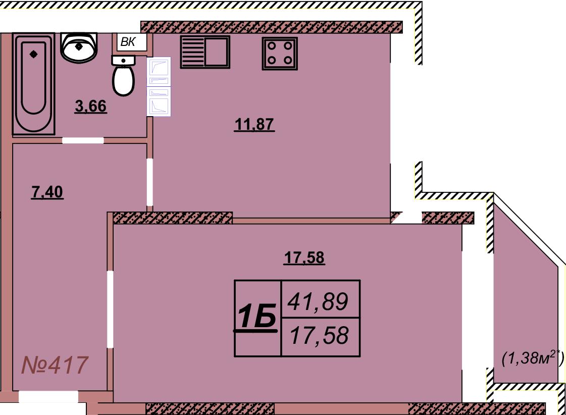 Квартира 417
