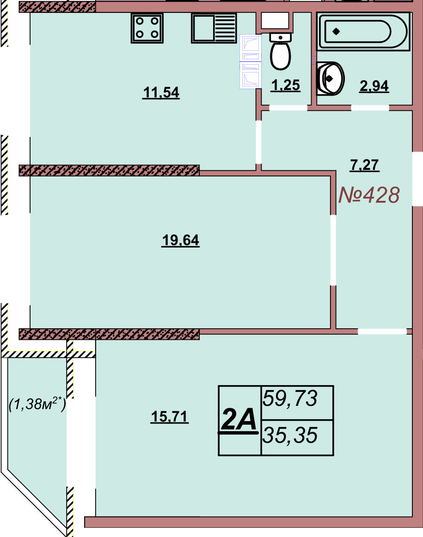 Квартира 428