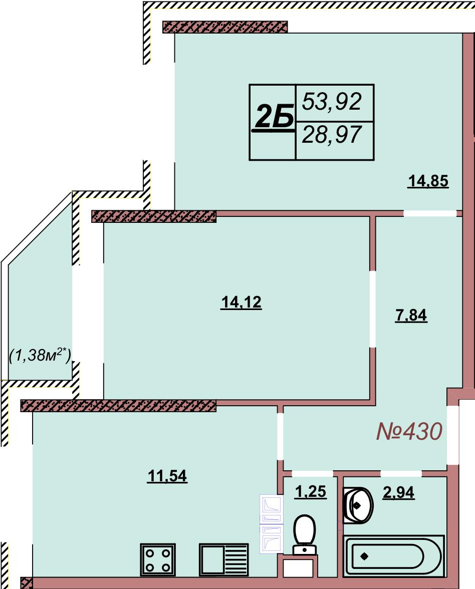 Квартира 430
