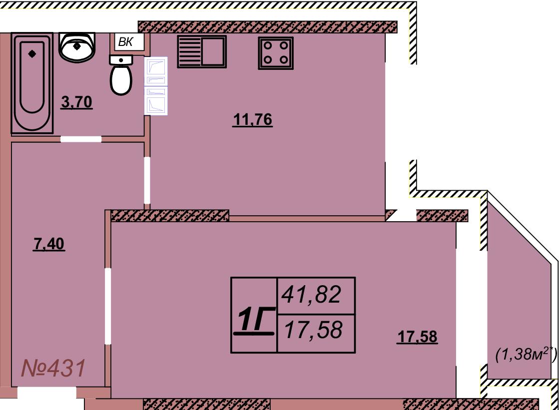 Квартира 431