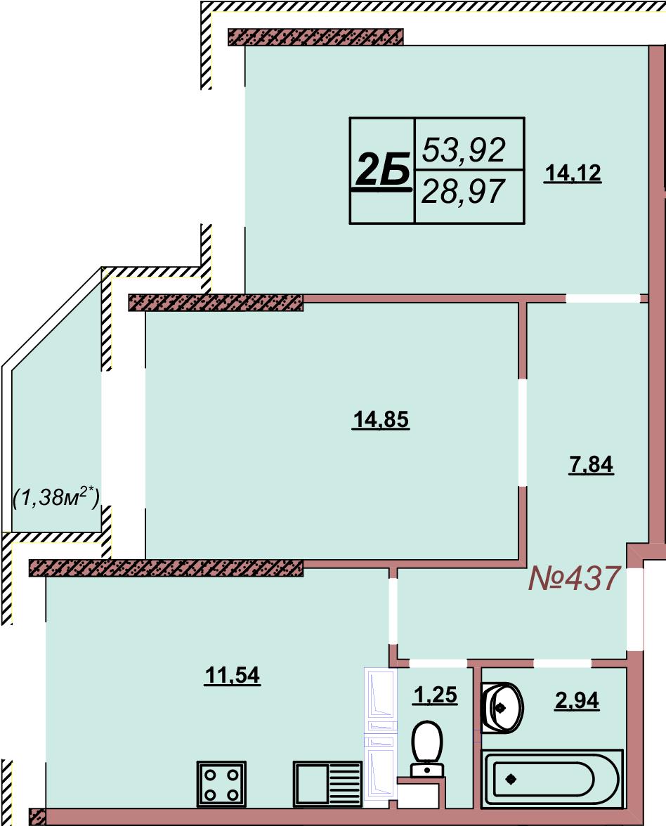 Квартира 437