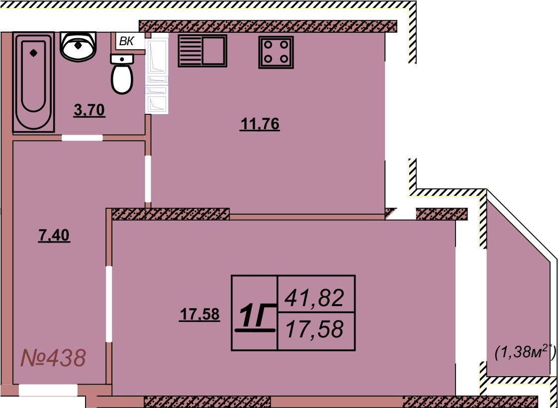 Квартира 438