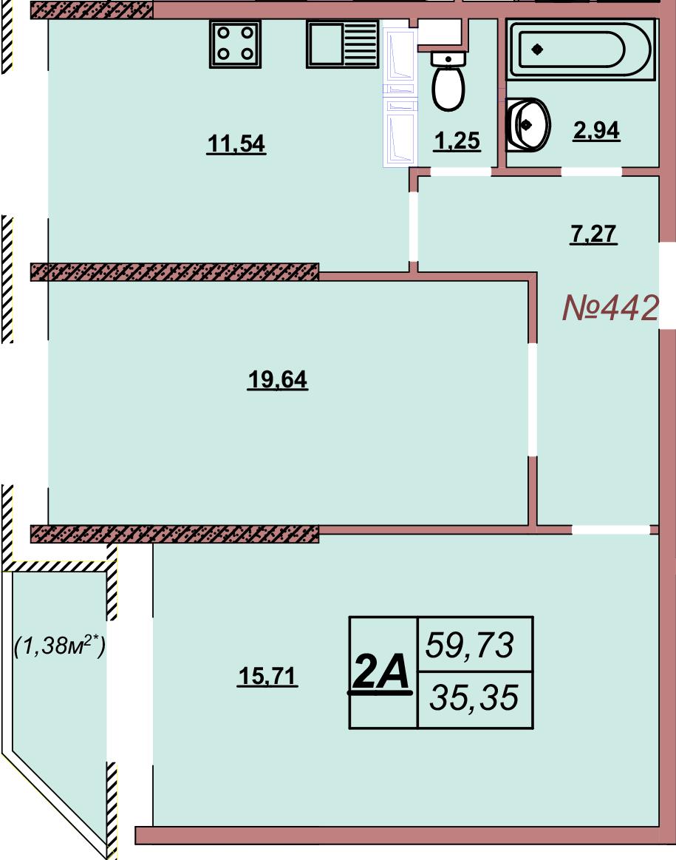 Квартира 442