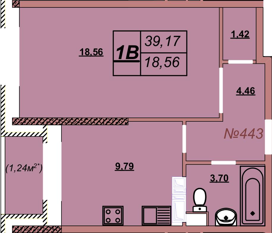 Квартира 443