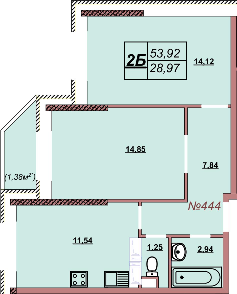 Квартира 444